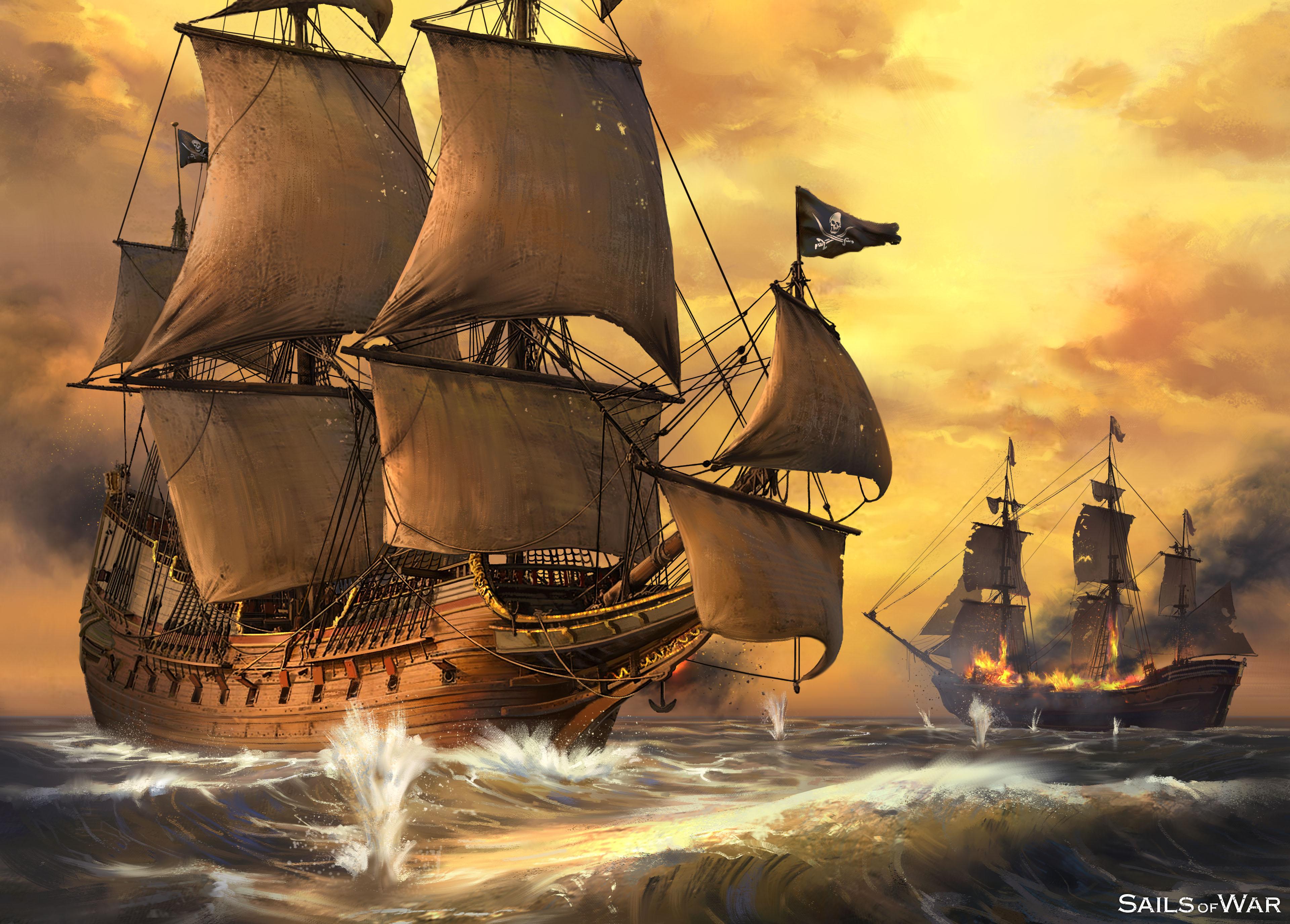 Sails Of War Concept Battle 1 Half